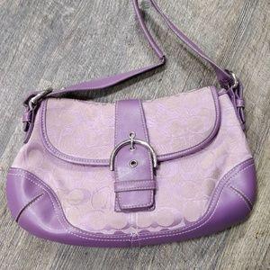 Light Purple Coach Purse